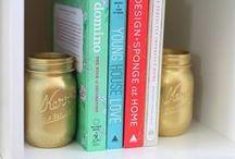 Shelf Life / Ball jars make for the perfect #Shelife.