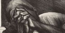 Jose Clemente Orozco-Mexican(1883-1949) / Painting