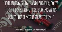 The Pursuit Of Merriment {Storyboard} / A storyboard inspired by my Christmas novella, THE PURSUIT OF MERRIMENT.  You can read it now on Wattpad:  https://www.wattpad.com/story/92996173-the-pursuit-of-merriment