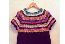 CROCHET cardigan & sweater