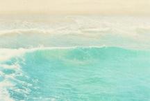Calm Beach Theme - Inspiration Board