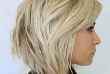 Trendy Hairstyles / Cute cuts and lucious colors