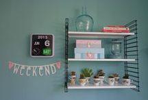 Hipgemaakt.nl - Home inspiration / #woonaccessoires #meubels #decoratie #inspiratie #kleur #behang #woonkamer #keuken