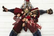 Christmas Card Poses and Props