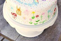 Decorating - Kids Birthday Cakes