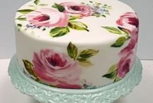 Decorating - Hand Painted Cakes