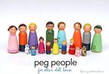 Peg doll inspiration / by Aimee Seaman