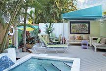 Key West Wabi Sabi ~ #Key West Rental  Weekly Rental  4 BR 3.5 BA  Sleeps 8 / Undeniably adorable, Key West Wabi Sabi vacation rental is a celebration of authentic Key West cottage style island living. Winter $4600. per wk/  Shoulder $4100. per wk/  Summer $3800. per wk/ / by Vacation Homes of Key West - VHKW