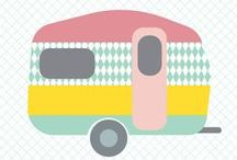 Hipgemaakt.nl - Caravanity / #summerfeeling #caravanity #caravan #style #summer #color #flamingo
