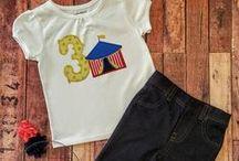 Girl birthday shirts you can make!