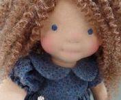 Handgemaakte poppen/ handmade dolls