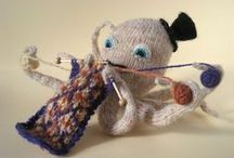Crafty Characters - Knitted Critters / by The Rabbit