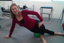 Great exercises / I'm into exercises that add to your vitality, flexibility and strength without causing pain or strain.