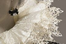 Paper Sculpture & Fashion / Historical costume reproductions in paper / by Marcia McDonald