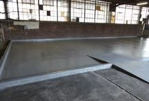 Secondary Containment / Secondary containment system; a chemical resistant flooring system for chemical processing facilities.