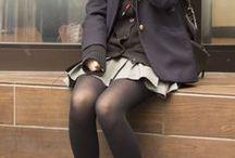 aes || our school days / | | school aesthetics | |