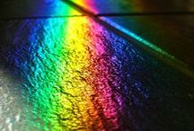 color || spectrum /  | | all the colorful things | |