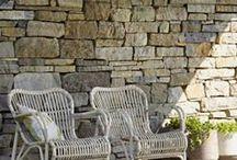 Veranda stoelen / stoelen voor in de veranda