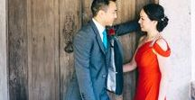 Chinese Lovely Wedding | Destination Wedding / The beautiful and strong meaning of Love and Tradition! Colors such as red and blue stand out in a simple and clean summer decoration. A fun group of family and friends made the day even more unforgetable!