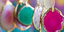 Fashion and Beauty | Full Color Chic Jewelry / Unique examples of Jewelry that will help inspire you to accessorize your life in full color. Colorful Jewelry ideas to match your outfits include bright and cheerful handmade designs for bracelets, necklaces and rings. Dress up or use pops of color for business casual. wardrobes. Find colorful ways to accessorize your home at www.shelbydillonstudio.com.