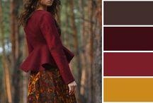 Colors autumn kleuren herfsttype / let op: het gaat om de kleuren (niet de mensen)