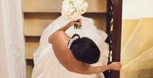 Real Wedding | Black & White theme