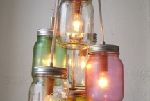 Upcycled lighting / by Kenny Ritch