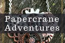 Papercrane Adventures / We recycle and re-purpose found items from all over the world into unique, one-of-a-kind wearables. Handmade, consciously sourced and quirky.  Join in our adventure: like, pin & share the awesome!