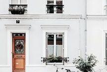 WhitE LivinG ❥ / Wonen in wit, mooi, stijlvol, knus en gezellig.