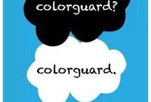 Color guard ♥ / by Alyssa Espiricueta