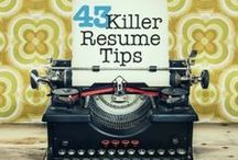 Resume Tips / by Volgenau School George Mason