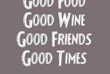 Drinks / Lekkere sapjes, wijn enz.