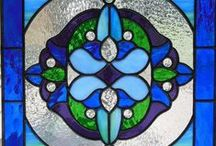 STAINED GLASS / by Carol Rowlands Plouff