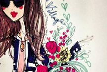 Fashion ilustrations / by Liza Quant