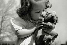 vintage pups / the cutest vintage dogs #vintage #dogs #photography #b&w #dogphotography