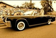 Lincoln Continental, My Ultimate Classic Car   / 1960-1968 $ doors Lincoln Continental, I prefer the convertible four door. The hard tops are nice too!  Hey Chp Foose Overhaul one for me! / by Nick Dominguez