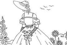 Belles, Bonnets & Parasol Ladies