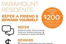 Referral Rewards Promotion / Visit our website for 'current' rewards promotions.