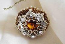 Mariam abalorios: Anillos-rings- ringe- bagues- gyürük- anelli- / My beading rings.
