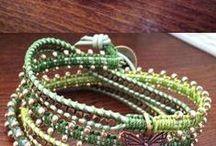 Kumihimo - Macramé - nudos / Trabajos con cuero, cordón o hilo.