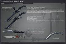Weapon Design / Weapon design | Concept art 2d/3D | digital art | digital painting