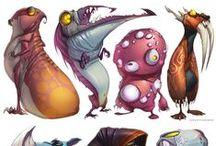 Creature Design / Creature design | Concept art 2d/3D | digital art | digital painting