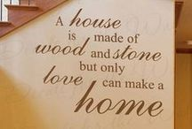 """Home Quotes / A collection of quotes that reminds why """"There's No Place Like Home."""""""