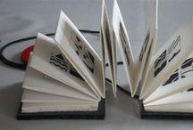 Livre d'artistes / Collecte iconographique de livres d'artistes et autres carnets de voyage.  Projet : la fabrique du livre ML2C