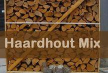 Haardhout en openhaardhout / Haardhout voor de houtkachel en voor de openhaard of vuurkorf. Hoge kwaliteit. Thuisbezorgd.