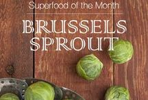 Superfood: Brussels Sprouts / November 2015 Superfood of the Month
