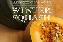 Superfood: Winter Squash / October 2015 Superfood of the Month