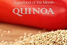 Superfood: Quinoa / December 2015 Superfood of the Month