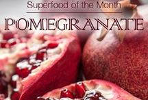 Superfood: Pomegranate / January 2016 Superfood of the Month