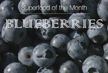 Superfood: Blueberries / July 2016 Superfood of the Month